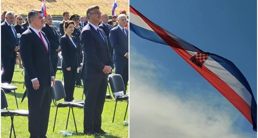 VIDEO 26. obljetnica VRO Oluja, Plenković: 'Srbija treba napustiti jalovu politiku prošlosti i posvetiti se politici pomirenja'