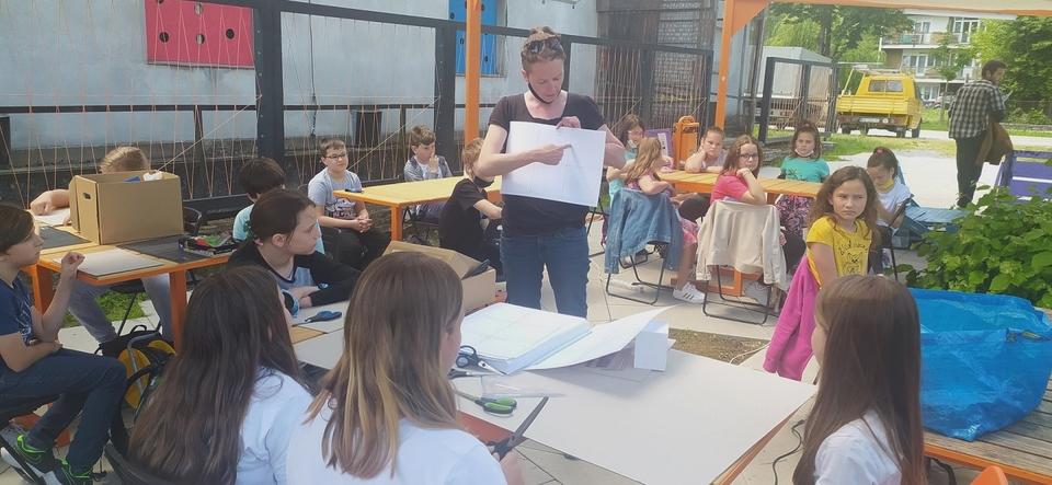 Radionice i izložbe udruge KA-MATRIX i zagrebačke Radione privukle brojne mlade sudionike i posjetitelje