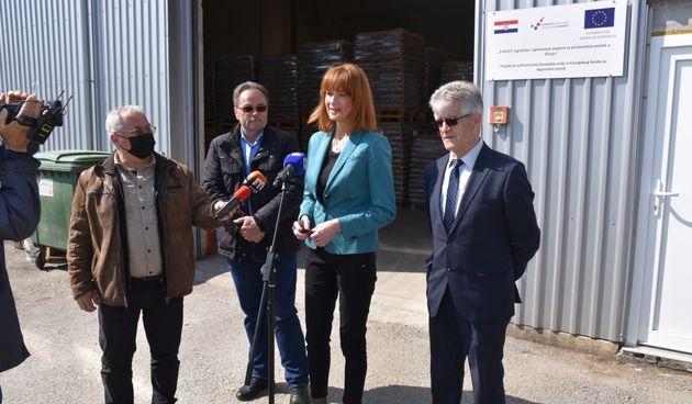Tvrtka Špelić u Slunju uz pomoć EU fondova izgradila postrojenje i zaposlila 20 ljudi, Furdek Hajdin: To je velika stvar za Slunj