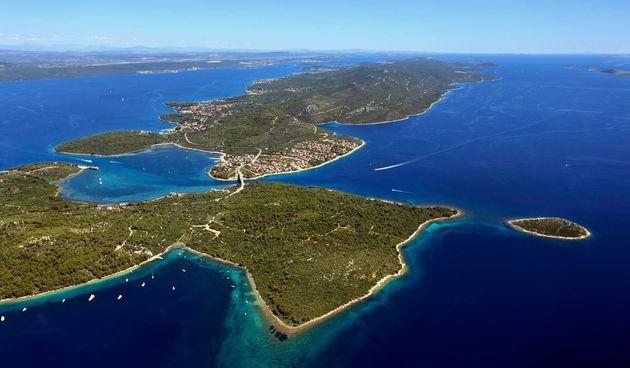 Otok Pašman iz zraka. Foto: TZ općine Pašman