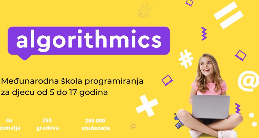 Algorithmics -  uranjanje u fascinantan svijet razvoja igara i prvi koraci k svladavanju tražene i vrijedne vještine za budućnost – programiranja