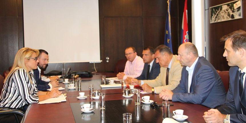 MINISTARSTVO PROMETA Prezentirani projekti prometnog razvoja Međimurja