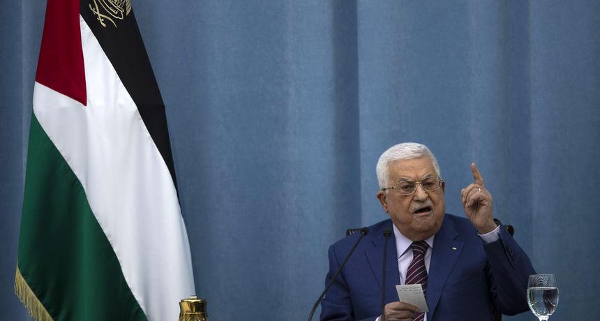 Palestinski predsjednik je Izraelcima dao rok od godinu dana da se maknu iz okupiranih područja