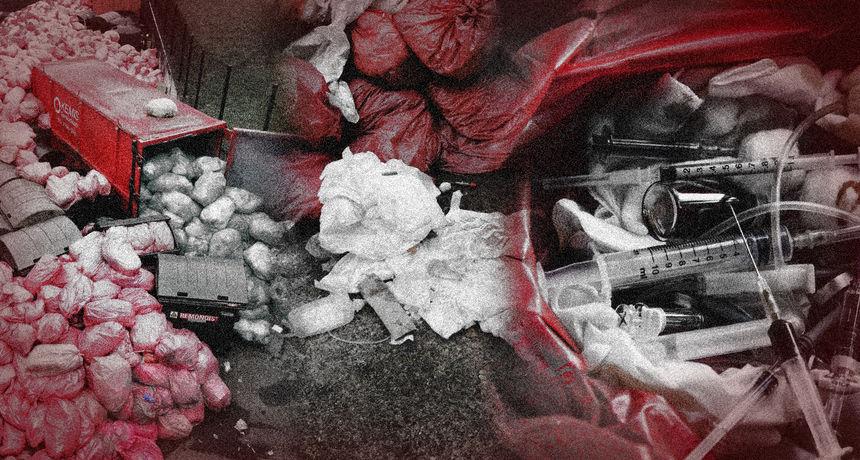 FOTO KB Dubrava zatrpana covid smećem: 'Rješenje je jednostavna odluka, a ako se ubrzo ne donese, čeka nas katastrofa!'