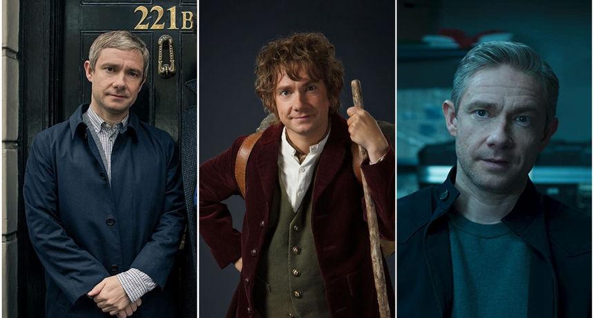 Watson, Hobit i Ross: Toliko su različiti da mnogi nisu shvatili da ih je utjelovio isti čovjek, britanski vrhunski glumac Martin Freeman