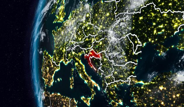 hrvatska karta zemlja