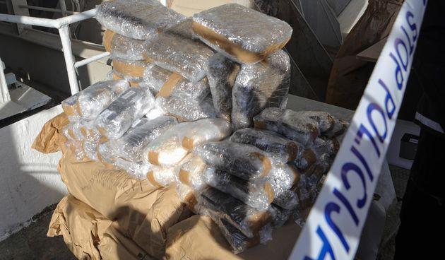 U Našicama su spalili više od dvije tone droge vrijedne 9,5 milijuna eura. Božinović ubacio prvi paket
