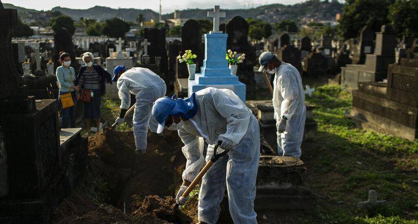 Od korone im je umro svaki 400. stanovnik, druga su zemlja svijeta s više od pola milijuna umrlih i više ne mogu trpjeti