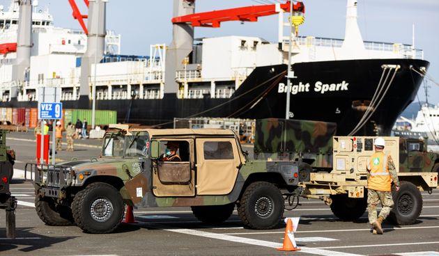 U Gaženicu dopremljena vojna oprema i sredstva za vježbu Immediate Response 21