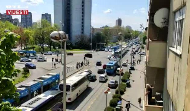 Prometna gužva u Zagrebu  (thumbnail)