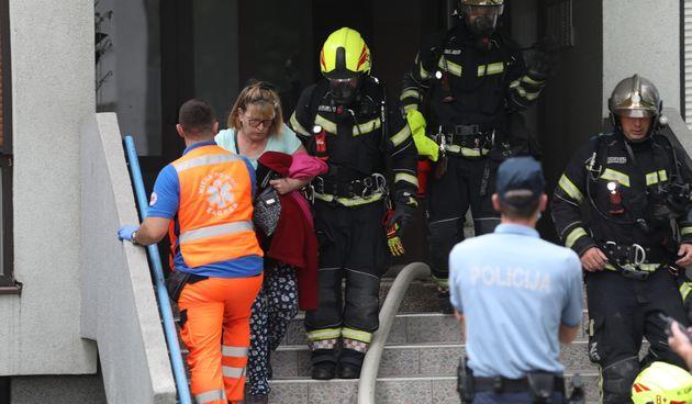 Gorio stan u Novom Zagrebu. U Trnskom je izbio veliki požar: 'Vatra je zahvatila još nekoliko stanova'