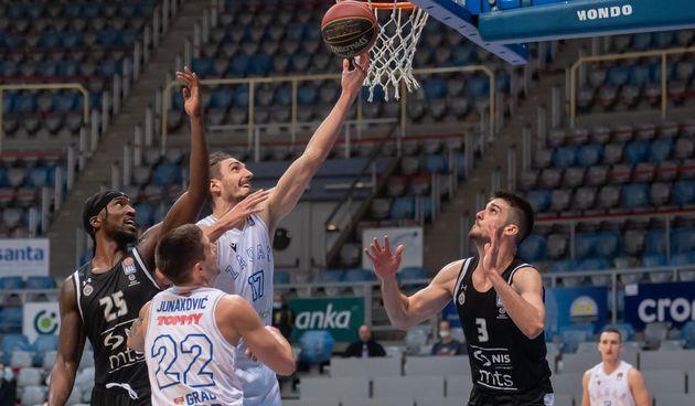 ABA liga, 19. kolo: KK Zadar - KK Partizan 96-94