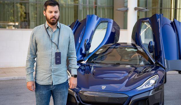 Mate Rimac u Dubrovniku predstavio Neveru: 'Ovaj auto pomiče granice'