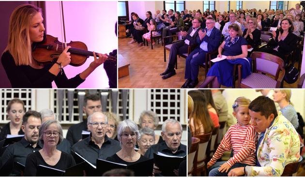 Publika u Glazbenoj školi uživala u kvalitetnoj glazbi zbora Belper Chor