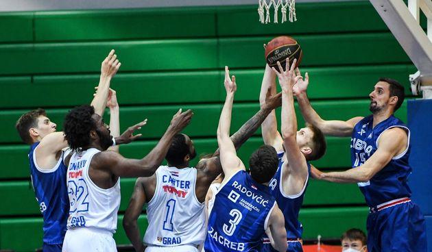 ABA liga, 25. kolo: KK Cibona - KK Zadar 77-75