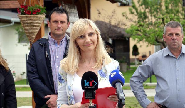 Nezavisna kandidatkinja za gradonačelnicu Lidija Bošnjak predstavila svoj program: Iznimno je važna dobra suradnja sa županijskom i državnom razinom