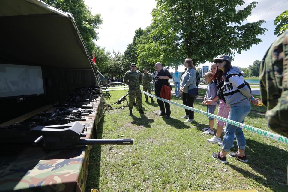 Hrvatska vojska pokazala je najbolje što ima, a građani su oduševljeni