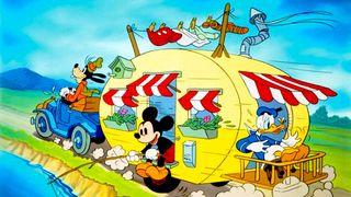 Mickeyjeva kamp-prikolica