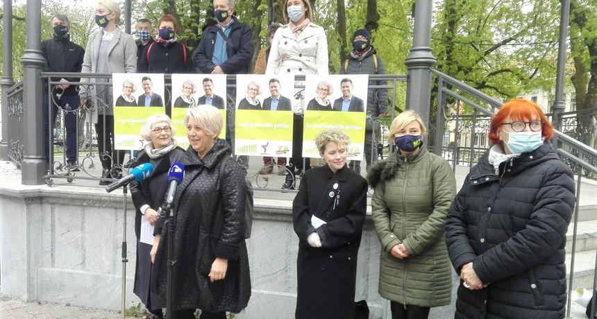 Draženka Polović kandidatkinja za gradonačelnicu, Dimitrije Birač za zamjenika: Nemamo ortake, ni svoje ljude, nego sugrađane i suradnike koji žele Karlovac jednakih prilika za sve