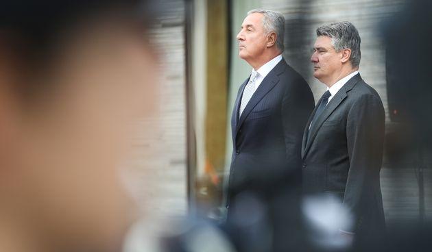 Zoran Milanović i Milo Đukanović