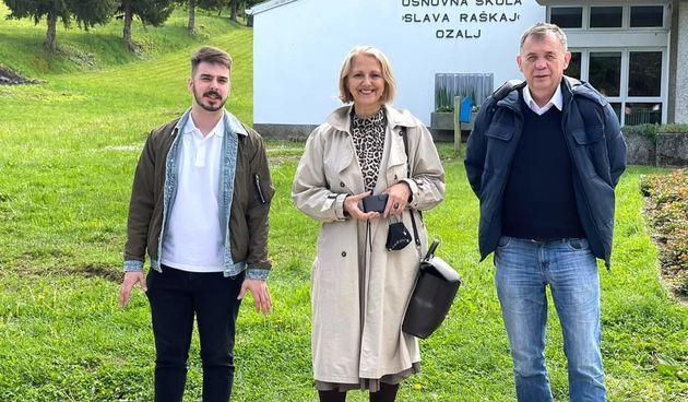 Aplikacijom YESTivo za lakši plasman domaćih proizvoda, gradonačelnica Lipšinić: Ovo rješenje nadopunjuje ozaljsku priču