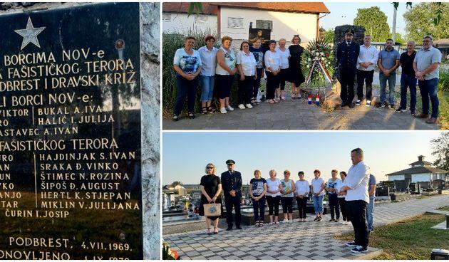 Orehovica, Dan antifašističke borbe