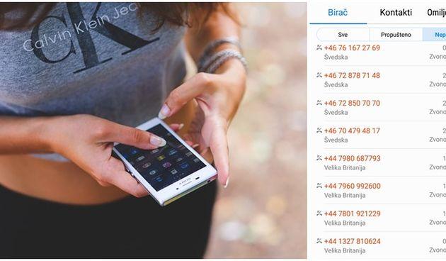 mobitel, prijevara, inozemstvo, pozivi