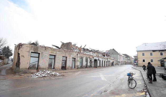 potres, Petrinja