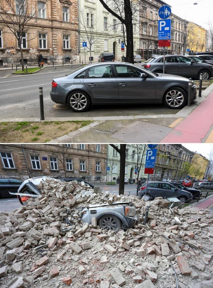 Zagreb potres