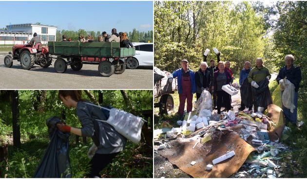 FOTO Svaka čast! Održana akcija čišćenja okoliša Drave kod Svete Marije