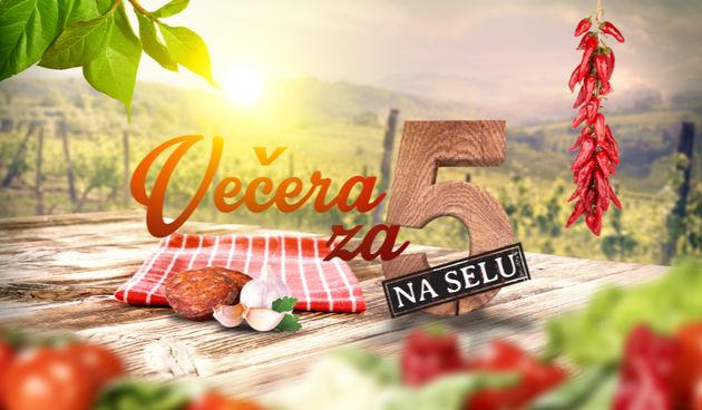 Večera za pet na selu, logo
