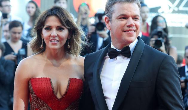 Matt Damon i Luciana Barroso