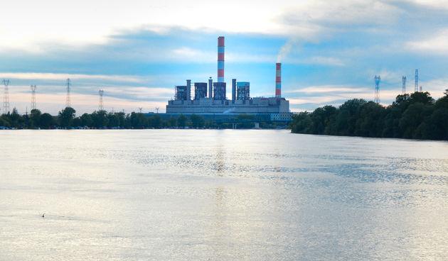 termoelektrana Nikola Tesla na Savi Obrenovac Srbija