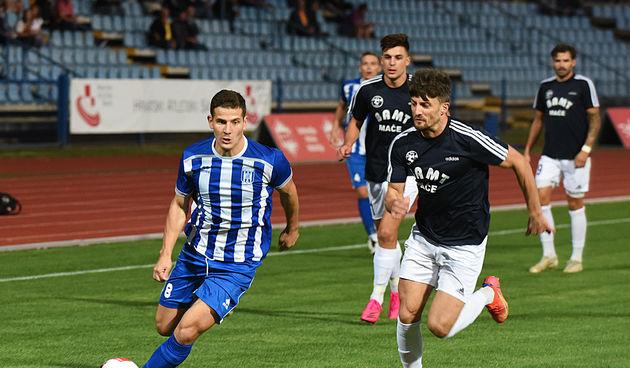 Nogomet: Karlovac 1919 - Gaj Mače 8. rujna 2021.