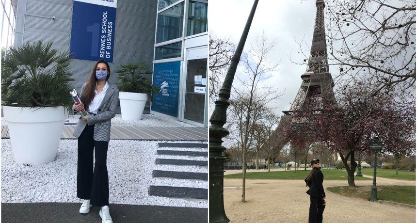 ELA VIDAČIĆ Studentica iz Mačkovca podijelila je s nama iskustvo studiranja u Francuskoj u doba pandemije