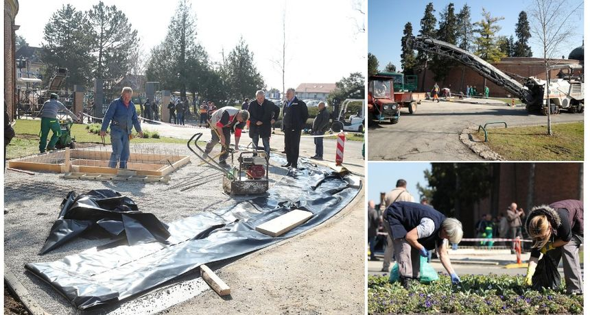 FOTO Uređuje se groblje: Pogledajte kako se na Mirogoju pripremaju za pogreb Milana Bandića