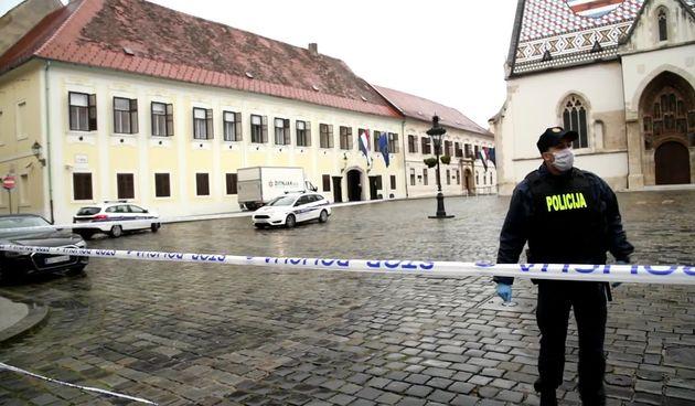 Na Markovom trgu ispred Banskih dvora upucan policajac!  (thumbnail)