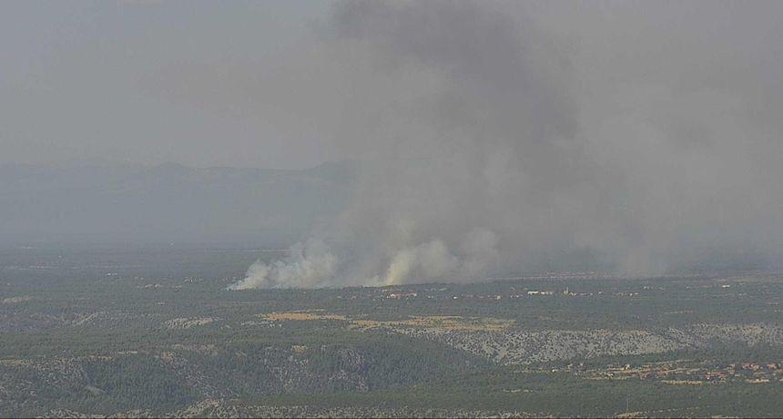 Tijekom noći ugašen požar kod Drinovaca