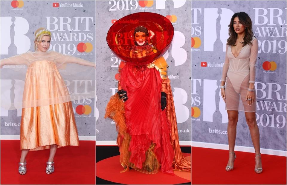 Najgore odjevene BRIT Awards