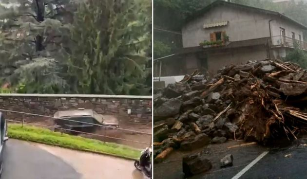 VIDEO U Italiji vrijeme ne miruje: Haraju oluje, poplave, tuča zaustavlja promet - uništene su kuće, automobili