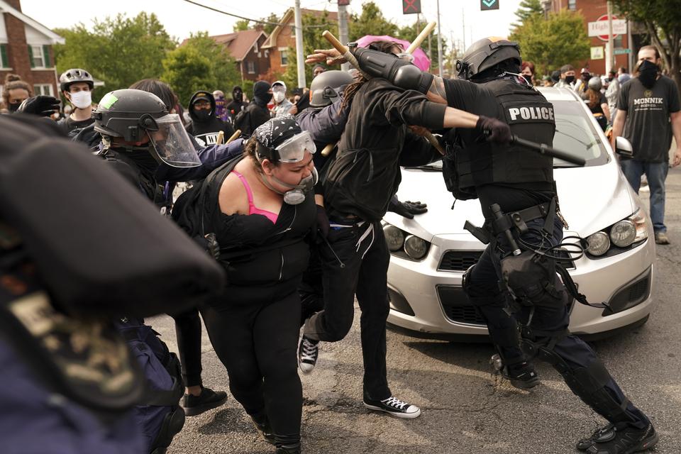 Prosvjedi - Amerika