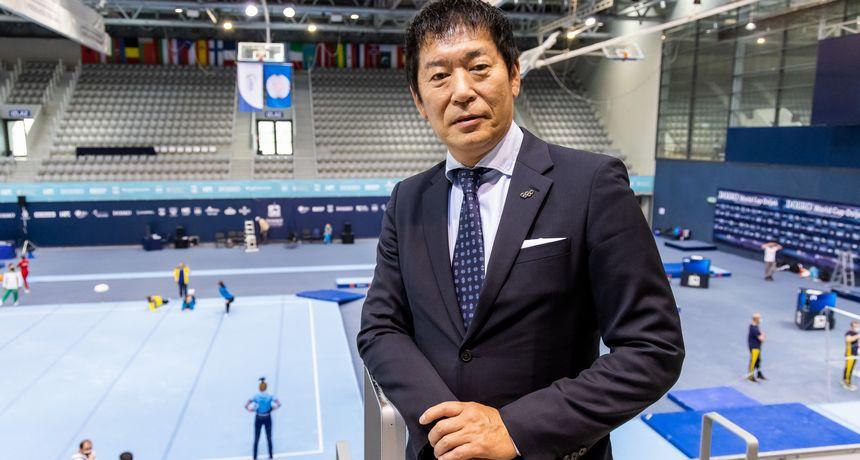 """Predsjednik Svjetske gimnastičke federacije: """"Dovoljna mi je bila sekunda da vidim da je SK-u u Osijeku jedan od najbolje organiziranih natjecanja u svijetu"""""""