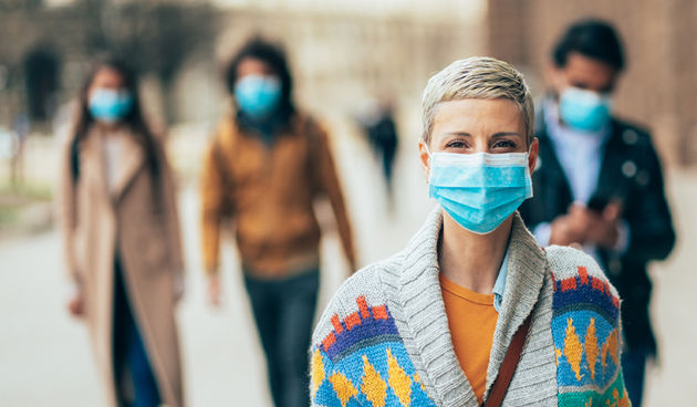 Maska, covid, koronavirus