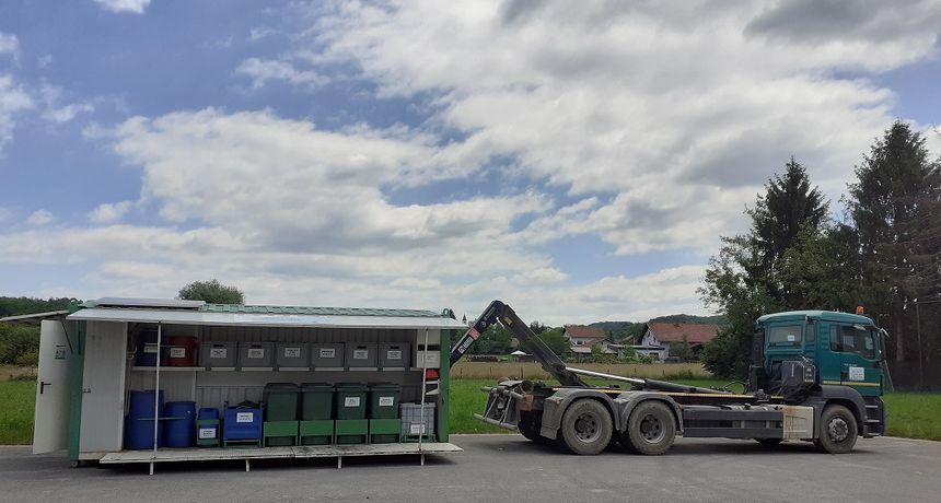 Mobilno reciklažno dvorište ponovo na terenu: Karlovčani još lakše mogu besplatno odložiti različite vrste opasnog i neopasnog otpada