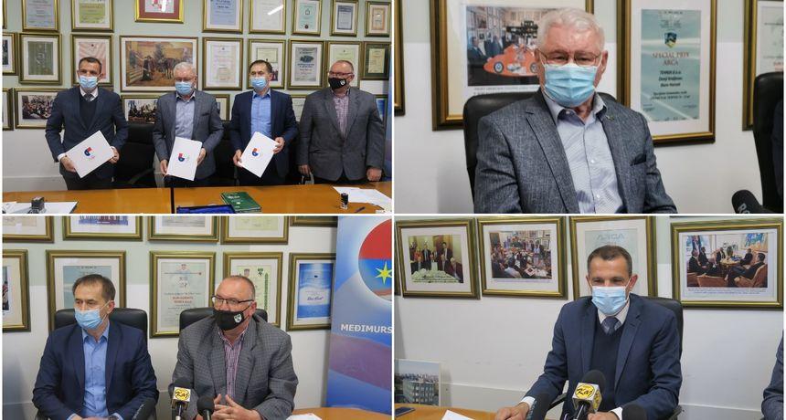 FOTO Vodeća inovativna eko industrija Tehnix d.o.o. treći je partner Međimurja - Europske regije sporta 2022.
