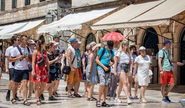 Dubrovnik, turisti