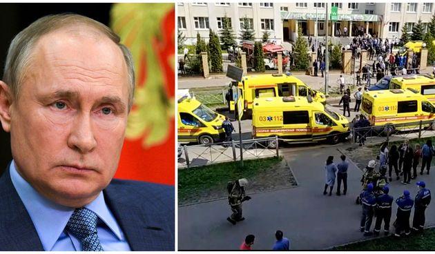 Pucnjava, Rusija, Putin