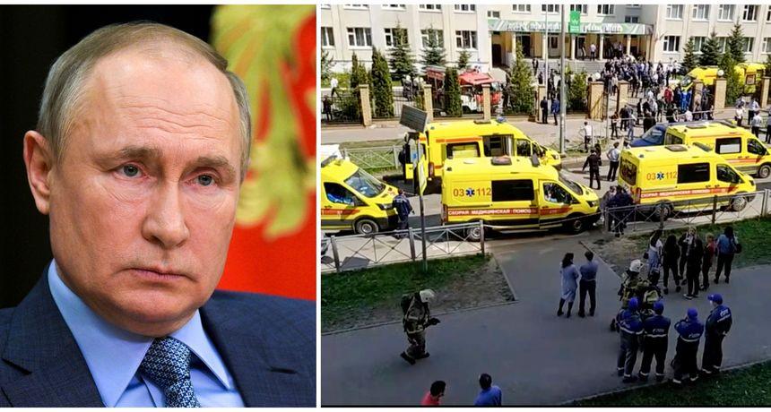 Nakon stravičnog napada u školi, Putin naredio izmjenu pravila o nošenju oružja