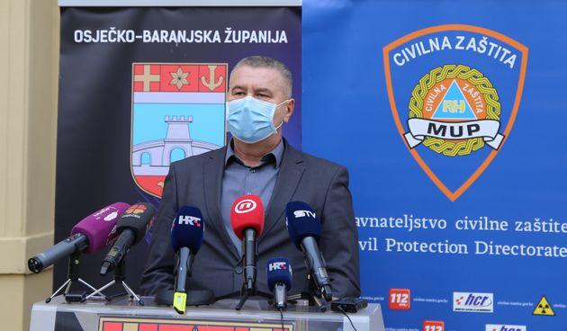 načelnik Stožera CZ OBŽ Ivan Hampovčan