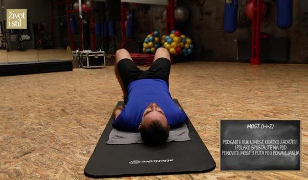 Trener Vedran Spevan pripremio je 5 vježbi za čvrstu stražnjicu koje možete raditi kod kuće (thumbnail)